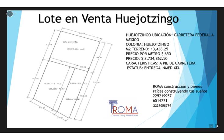 Foto de terreno habitacional en venta en, el huesito, huejotzingo, puebla, 1452323 no 16