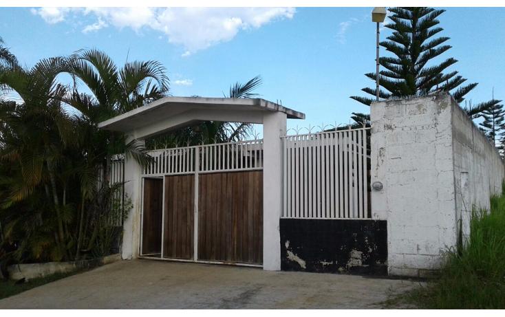 Foto de casa en venta en  , el lencero, emiliano zapata, veracruz de ignacio de la llave, 2036238 No. 01