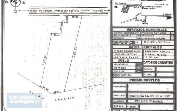 Foto de terreno comercial en venta en  , el lim?n, para?so, tabasco, 1955749 No. 01