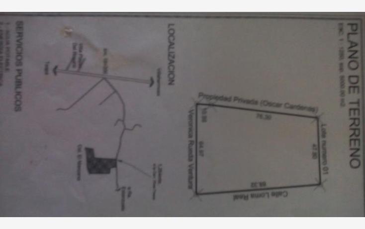 Foto de terreno comercial en venta en el manzano 0, la lima, centro, tabasco, 1674302 No. 01