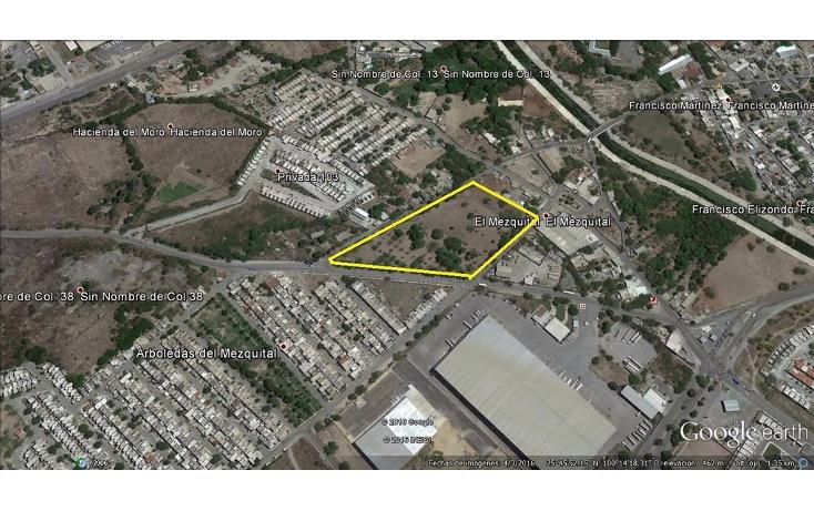Foto de terreno habitacional en venta en  , el mezquital, apodaca, nuevo león, 1467821 No. 01