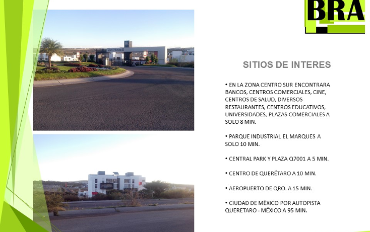 Foto de terreno habitacional en venta en  , el mirador, el marqués, querétaro, 1478453 No. 07