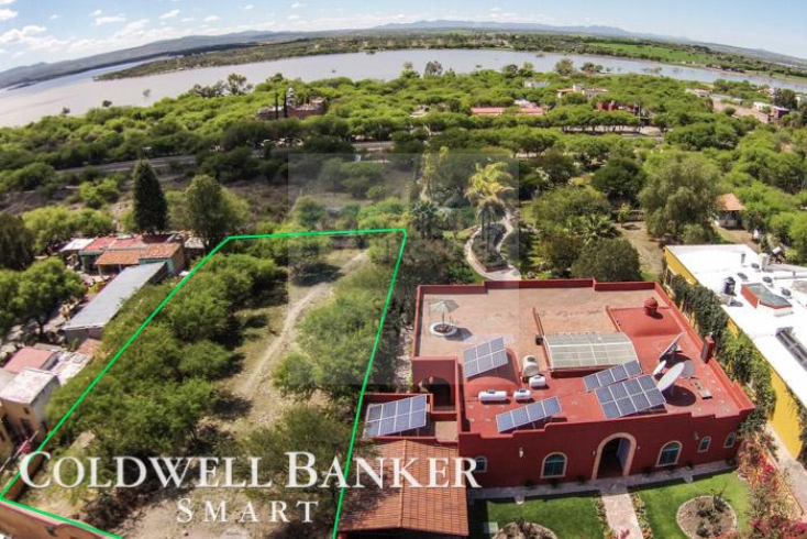 Foto de terreno habitacional en venta en el mirador , villa de los frailes, san miguel de allende, guanajuato, 1523118 No. 01
