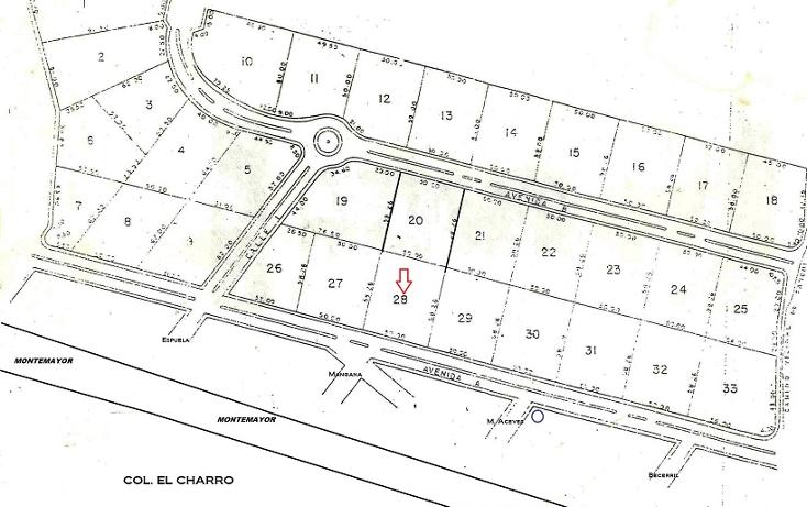 Foto de terreno habitacional en venta en  , el ojital, tampico, tamaulipas, 1678394 No. 01