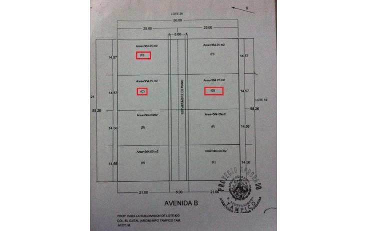Foto de terreno habitacional en venta en  , el ojital, tampico, tamaulipas, 1684172 No. 04