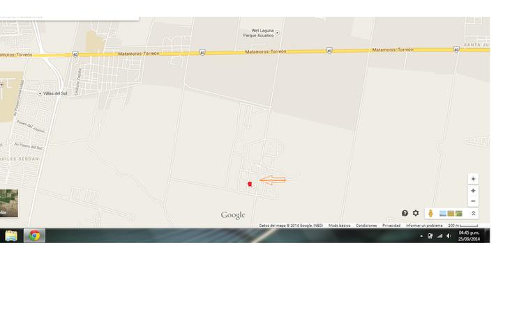 Foto de terreno habitacional en venta en  , el olivo, matamoros, coahuila de zaragoza, 1028269 No. 06