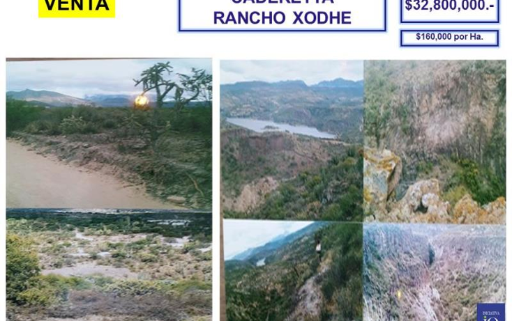 Foto de terreno comercial en venta en el palmar - rancho xodhe 1, centro, cadereyta de montes, quer?taro, 761557 No. 04