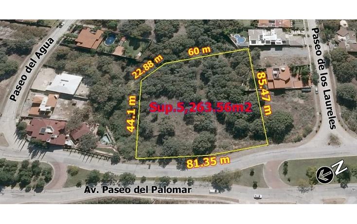 Foto de terreno habitacional en venta en  , el palomar, tlajomulco de z??iga, jalisco, 1489013 No. 03