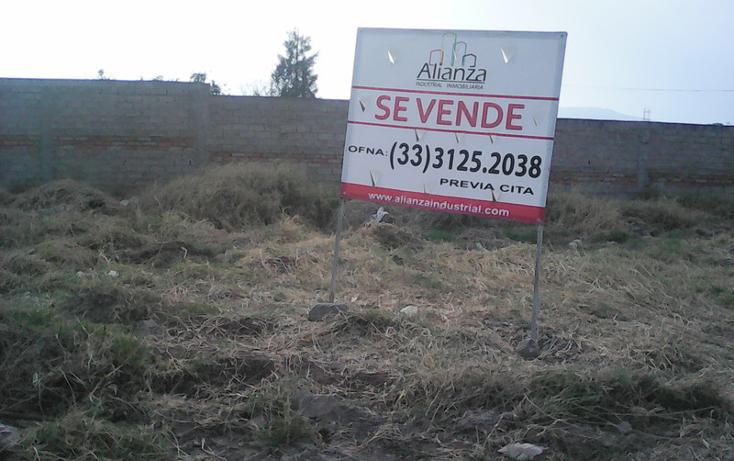 Foto de terreno habitacional en venta en  , el paraíso, tlajomulco de zúñiga, jalisco, 936547 No. 01