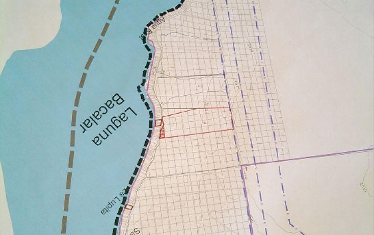 Foto de terreno comercial en venta en, el pedregal, bacalar, quintana roo, 2011574 no 05