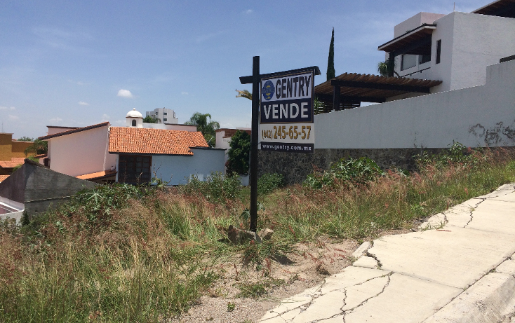 Foto de terreno habitacional en venta en  , el pedregal de querétaro, querétaro, querétaro, 1253543 No. 02