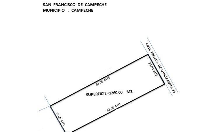 Foto de terreno comercial en venta en  , el polvorín, campeche, campeche, 1239261 No. 03