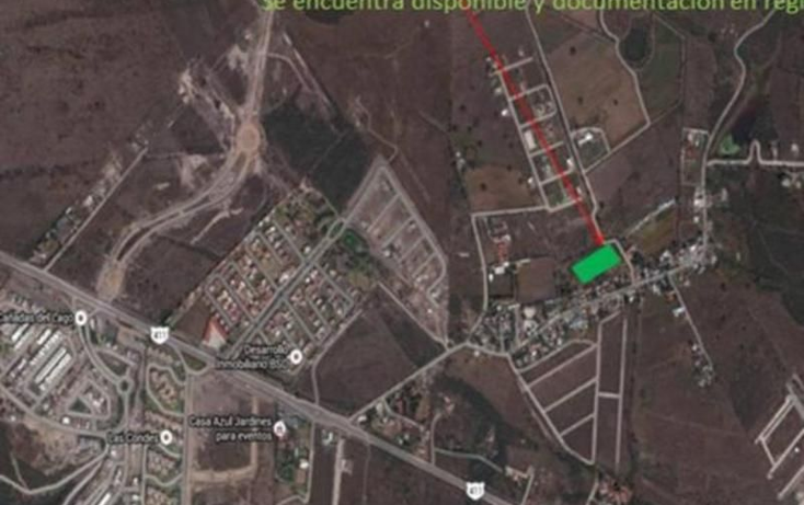 Foto de terreno habitacional en venta en  , el progreso, corregidora, quer?taro, 1644030 No. 01