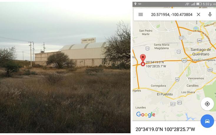 Foto de terreno comercial en venta en  , el pueblito centro, corregidora, querétaro, 1491069 No. 01