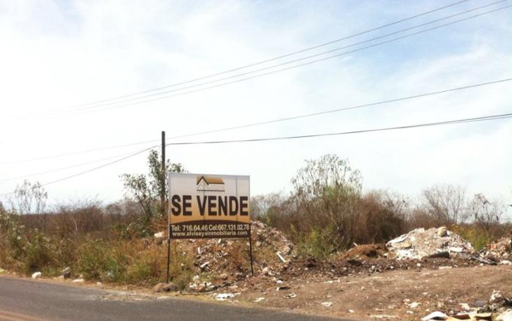 Foto de terreno habitacional en venta en  , el ranchito, culiac?n, sinaloa, 1784008 No. 01