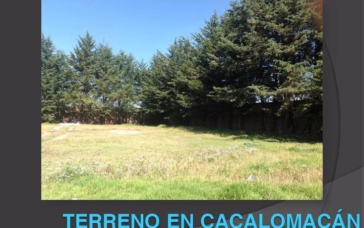 Foto de terreno habitacional en venta en  , el refugio, toluca, méxico, 1502493 No. 01