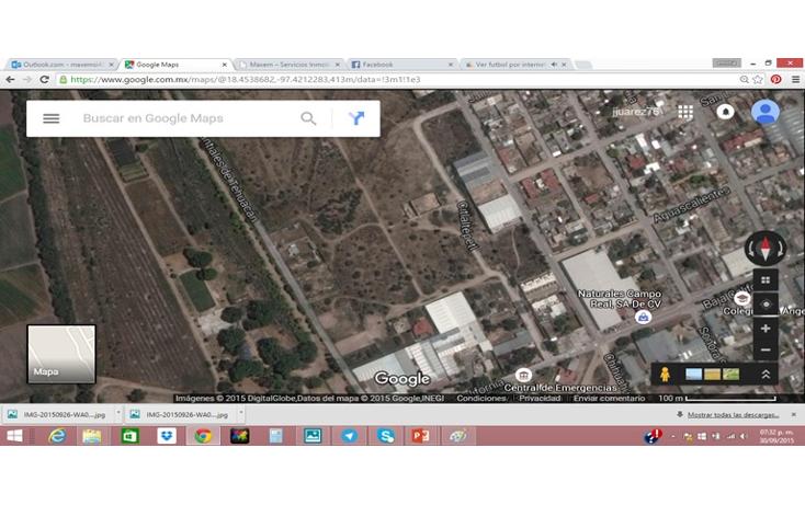 Foto de terreno habitacional en venta en  , el riego, tehuacán, puebla, 1720828 No. 01