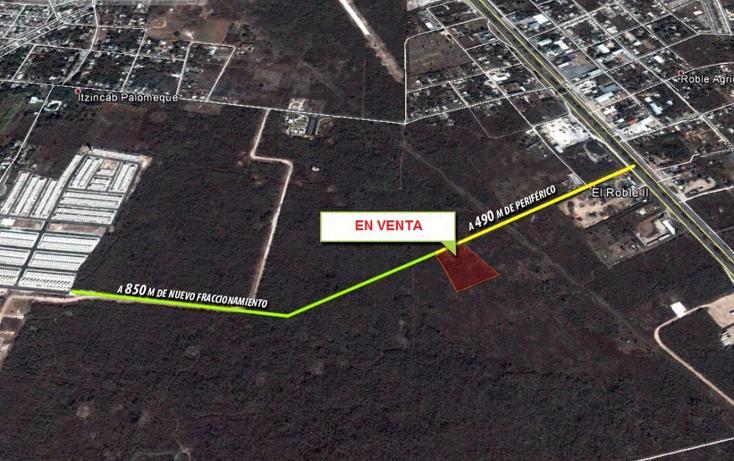 Foto de terreno comercial en venta en  , el roble, mérida, yucatán, 2639257 No. 01