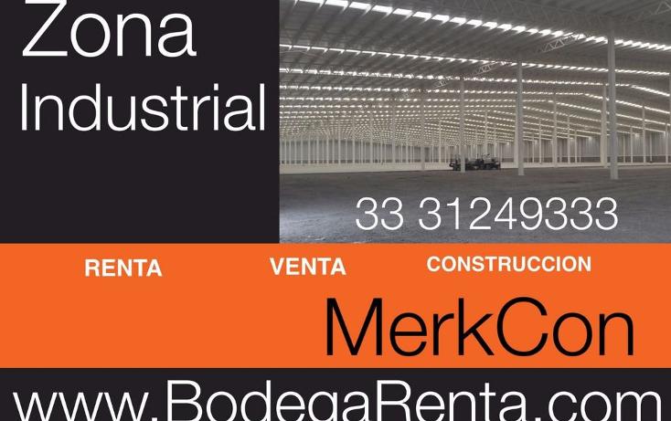 Foto de nave industrial en renta en  , el rosario, guadalajara, jalisco, 1272605 No. 02