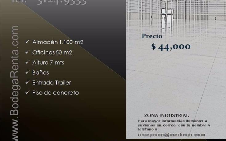 Foto de nave industrial en renta en  , el rosario, guadalajara, jalisco, 1272605 No. 05