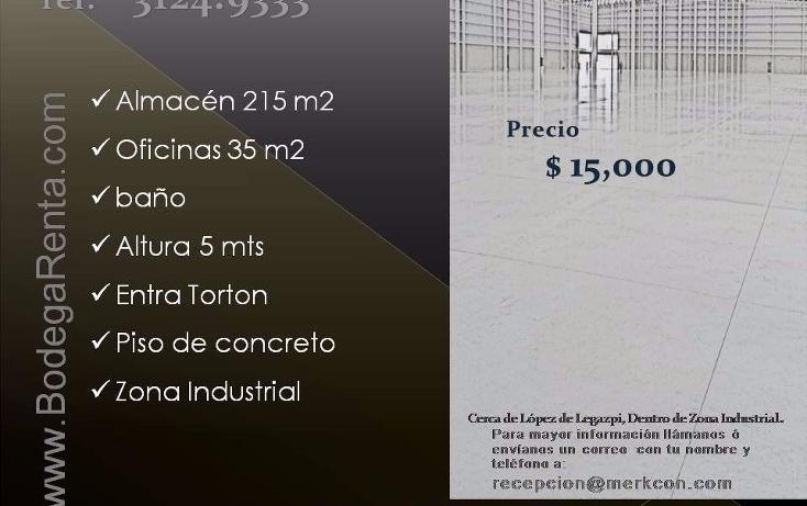 Foto de nave industrial en renta en  , el rosario, guadalajara, jalisco, 1272605 No. 07