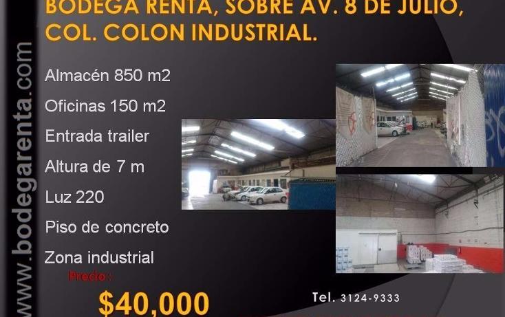 Foto de nave industrial en renta en  , el rosario, guadalajara, jalisco, 1272605 No. 08