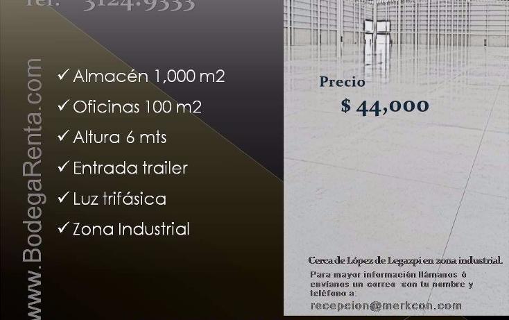 Foto de nave industrial en renta en  , el rosario, guadalajara, jalisco, 1272605 No. 11