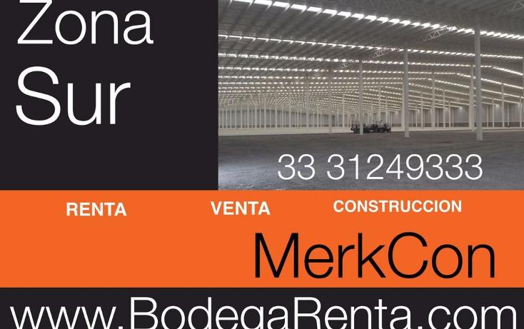Foto de nave industrial en renta en  , el rosario, guadalajara, jalisco, 1272605 No. 18