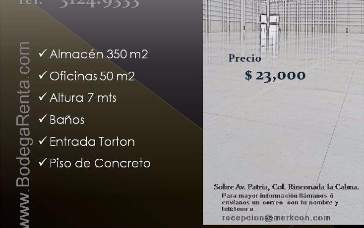 Foto de nave industrial en renta en  , el rosario, guadalajara, jalisco, 1272605 No. 26