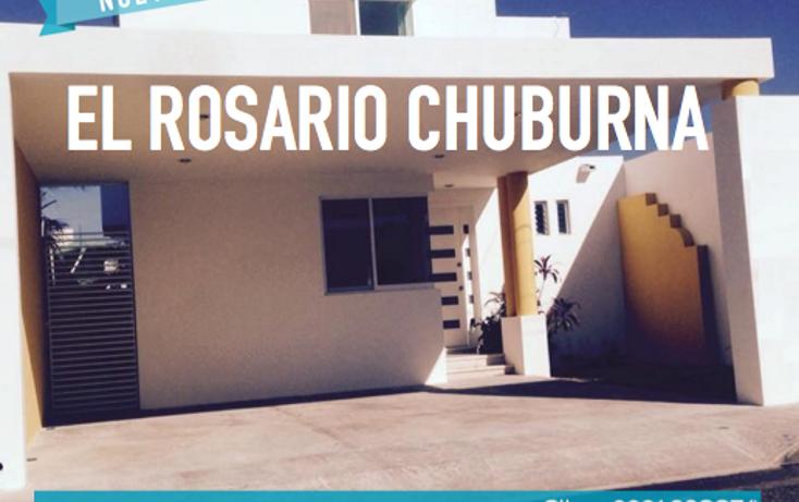 Foto de casa en venta en  , el rosario, mérida, yucatán, 604128 No. 01