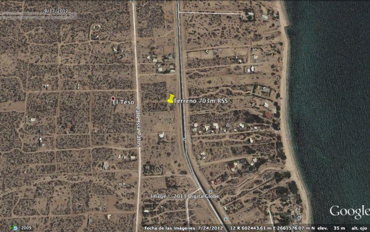 Foto de terreno habitacional en venta en, el sargento, la paz, baja california sur, 1075841 no 01