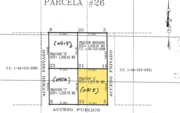 Foto de terreno habitacional en venta en  , el sargento, la paz, baja california sur, 1440141 No. 04