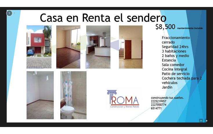 Foto de casa en renta en  , el secreto, san andr?s cholula, puebla, 1540665 No. 01