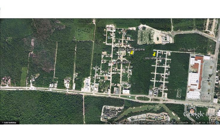 Foto de terreno habitacional en venta en  , el tigrillo, solidaridad, quintana roo, 1551246 No. 01