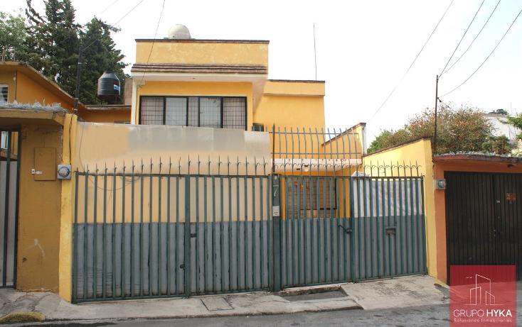 Foto de casa en venta en  , el toro, la magdalena contreras, distrito federal, 1875416 No. 01
