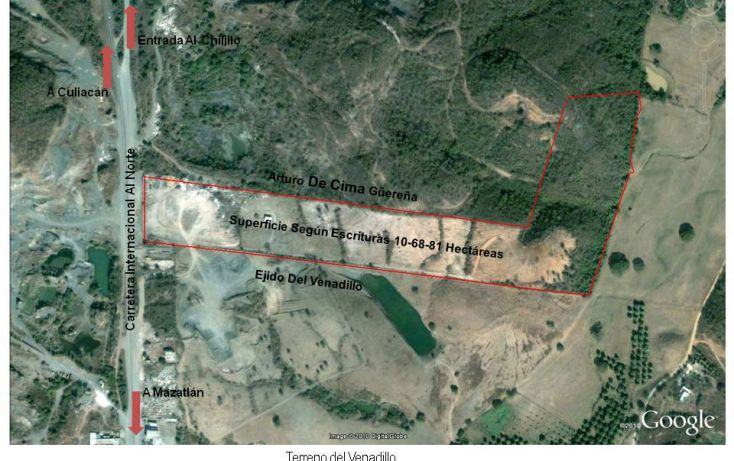 Foto de terreno comercial en venta en, el venadillo, mazatlán, sinaloa, 1172235 no 07