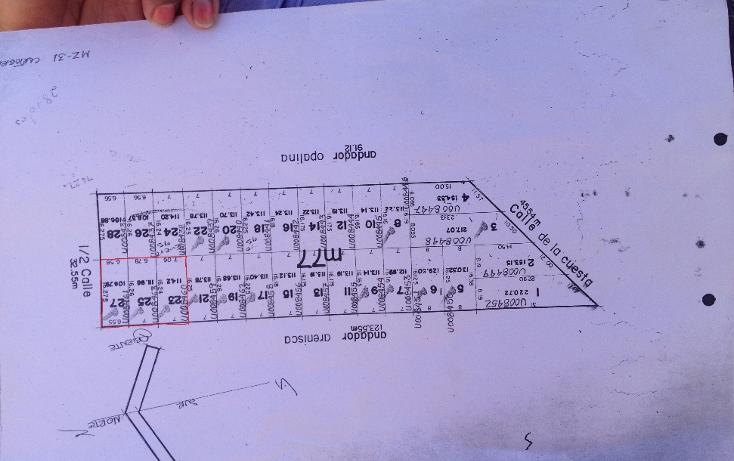 Foto de terreno habitacional en venta en  , el verde, el salto, jalisco, 1296171 No. 08
