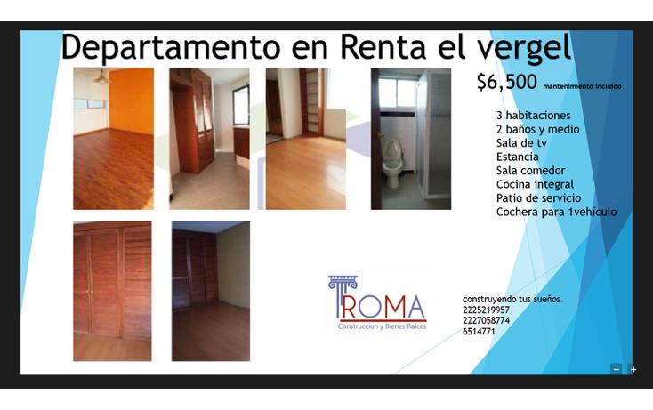 Foto de casa en renta en  , el vergel, puebla, puebla, 1540667 No. 01