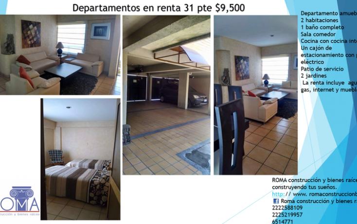 Foto de departamento en renta en, el vergel, tehuacán, puebla, 1699962 no 02