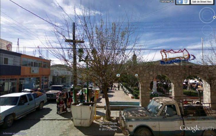 Foto de edificio en venta en emiliano carranza 50, jalisco, el oro, durango, 395491 no 01
