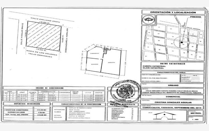 Foto de edificio en venta en emiliano zapata esquina nicolas bravo , tecolutilla, comalcalco, tabasco, 1992622 No. 05