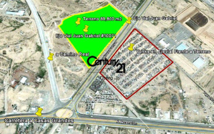 Foto de terreno habitacional en venta en, emiliano zapata, juárez, chihuahua, 1180755 no 01