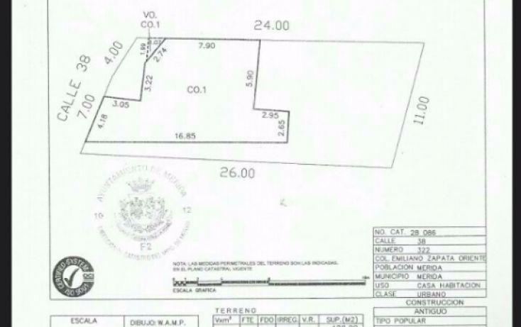 Foto de casa en venta en, emiliano zapata ote, mérida, yucatán, 1647368 no 02