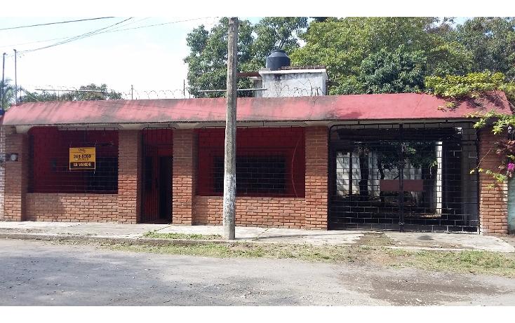 Foto de casa en venta en  , emiliano zapata, tierra blanca, veracruz de ignacio de la llave, 1718918 No. 01