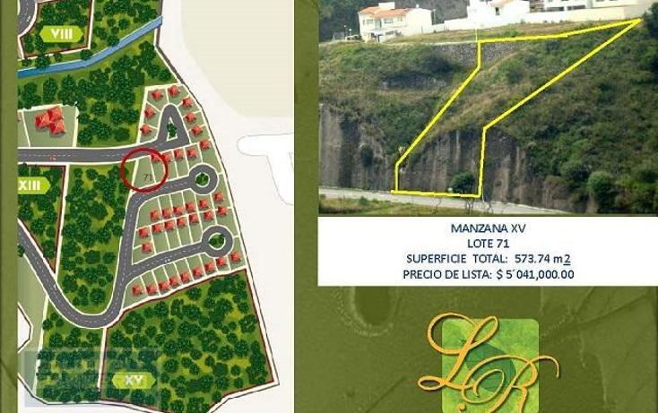 Foto de terreno habitacional en venta en  59, independencia, naucalpan de juárez, méxico, 1654681 No. 07
