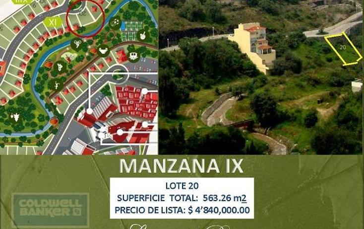 Foto de terreno habitacional en venta en  59, independencia, naucalpan de juárez, méxico, 1654681 No. 11