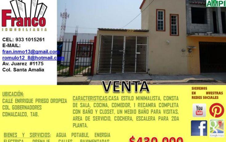 Foto de casa en venta en enrrique priego oropeza, gobernadores, comalcalco, tabasco, 1934548 no 07