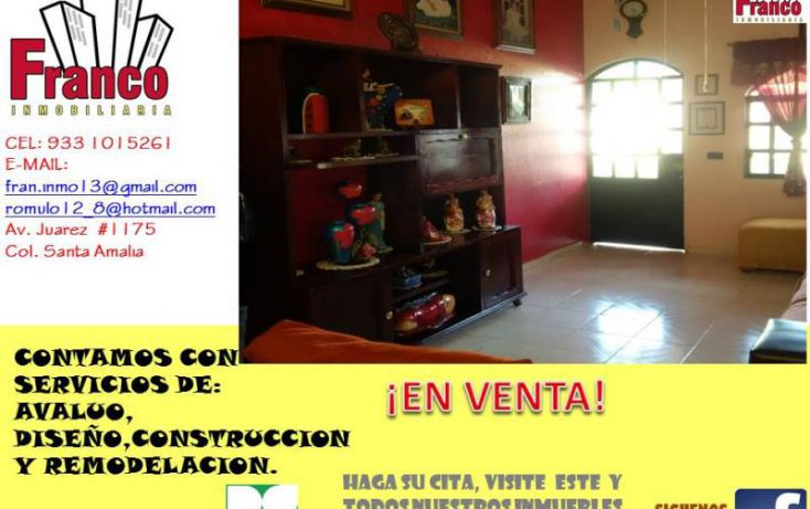 Foto de casa en venta en entrada a allende, cap reyes hernandez 2a secc, comalcalco, tabasco, 1449897 no 06