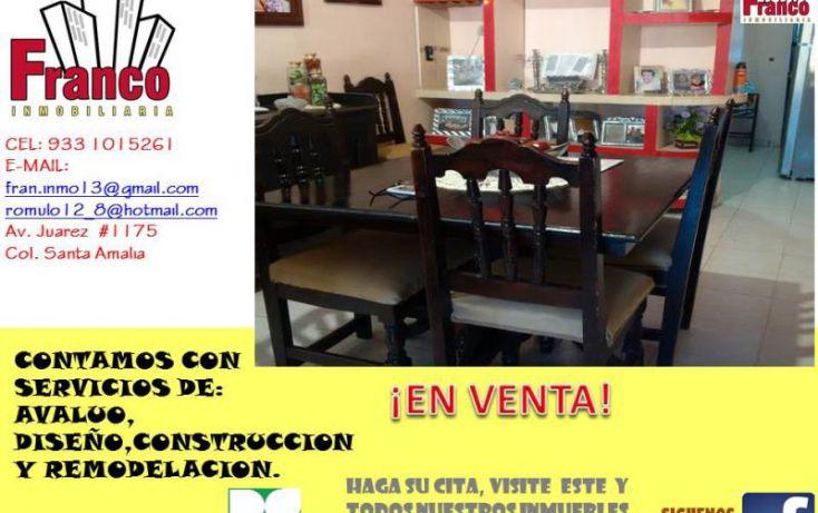 Foto de casa en venta en entrada a allende, cap reyes hernandez 2a secc, comalcalco, tabasco, 1449897 no 12
