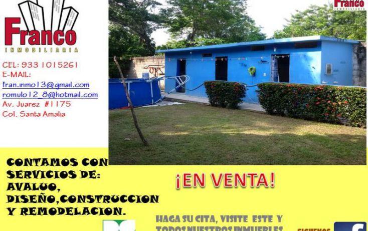 Foto de casa en venta en entrada a allende, cap reyes hernandez 2a secc, comalcalco, tabasco, 1449897 no 18